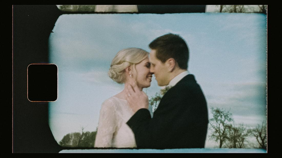 Elmore Court Wedding on Vintage Super 8 Film