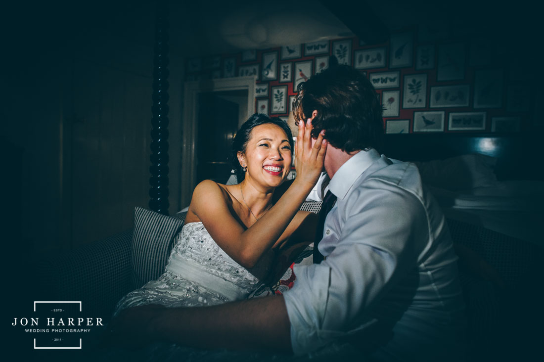 Cotswold Wedding of Jenny & Peter at The Bay Tree in Oxfordshire
